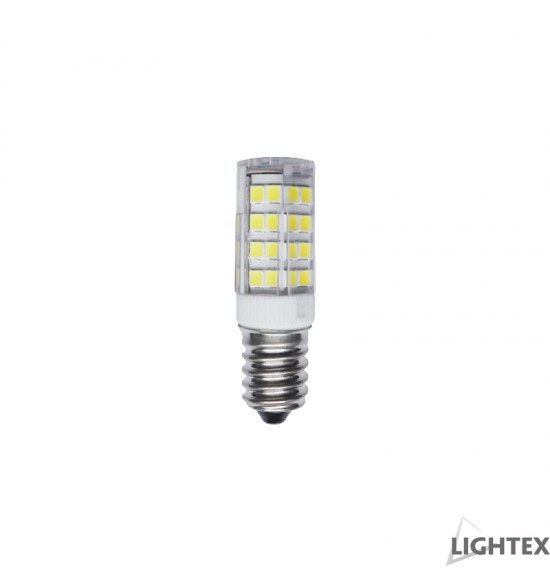 Led лампа  5W 220V E14 T16 6000K Lightex