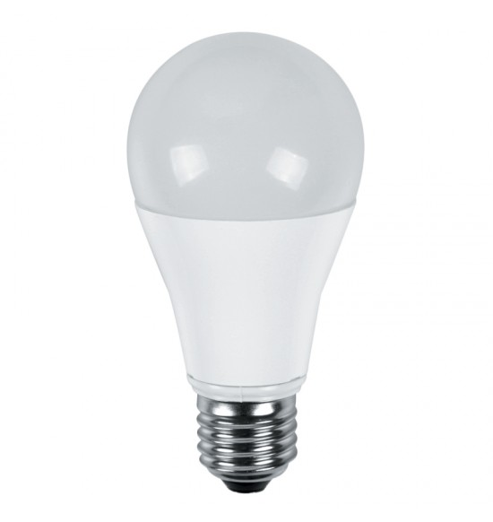 Led лампа 14W 220V E27 A60 3000K alum Lightex