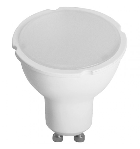 LED лампа Plastic 7W 220V GU10 WW 3000K Lightex