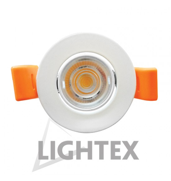 LED луна 220V 4W бяла CW 6000K  Lightex