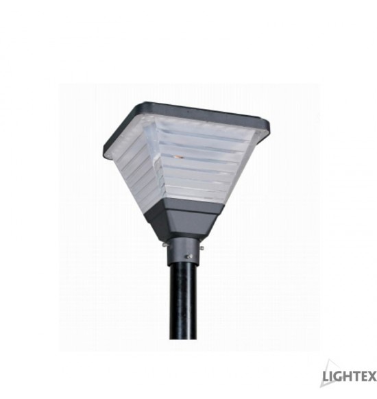 LED Соларен градински осветител  QUADRO 20W 5000K IP65 400x400x410mm Lightex