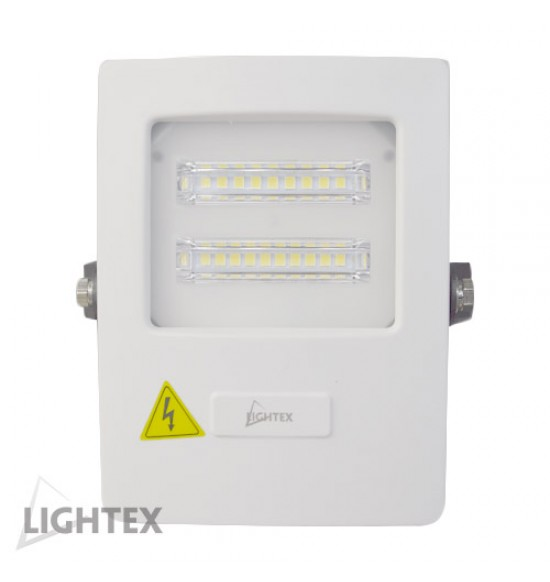 LED прожектор бял ALASKA 220V 10W IP65 CW 6000K Lightex