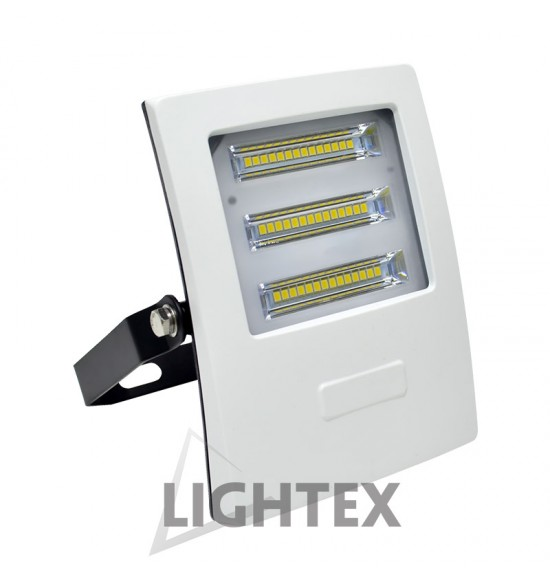 LED прожектор бял ALASKA 220V 20W IP65 CW 6000K Lightex