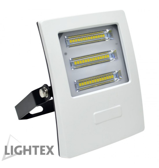 LED прожектор бял ALASKA 220V 30W IP65 CW 4000K Lightex