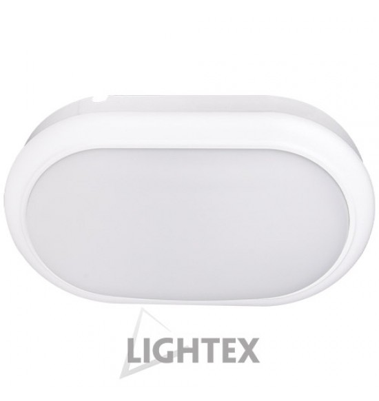 LED аплик ECLIPS 15W 220V 4000К бял IP54  Lightex