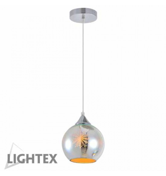 Пендел LEDA 1xE27 хром Lightex