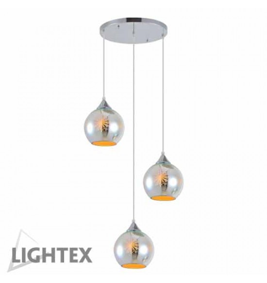 Полилей LEDA 3xE27 хром Lightex