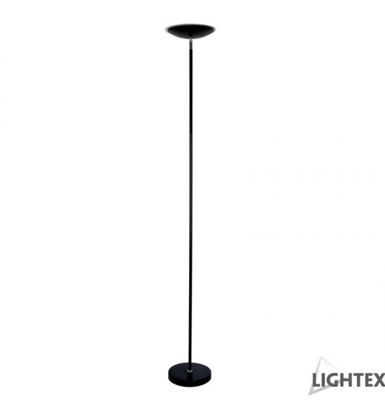 LED лампион BRICO SINGLE черен 18W 3000K H178cm Lightex