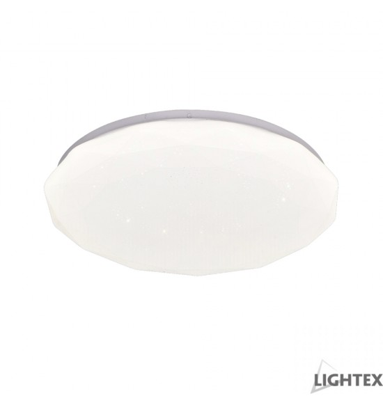 LED плафон DIAMOND 12W 4000K Ф230mm IP44 Lightex